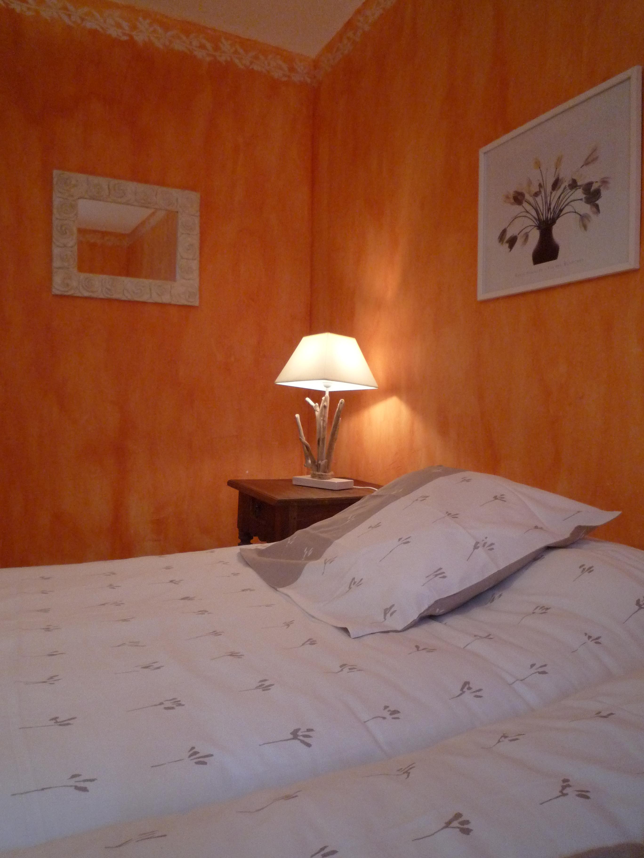 chambre double 2 lits simples - étage